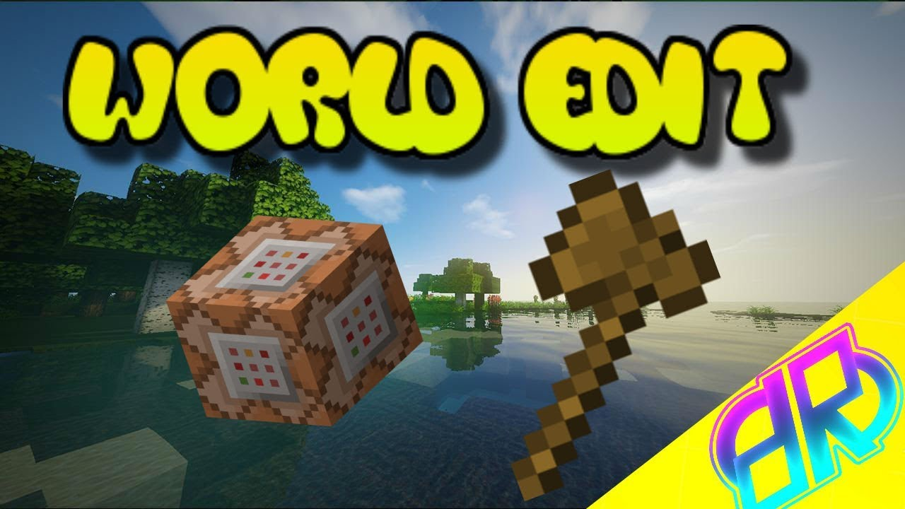 Minecraft: Bedrock Edition/Xbox One/MCPE | World Edit Command Block  Creation Tutorial