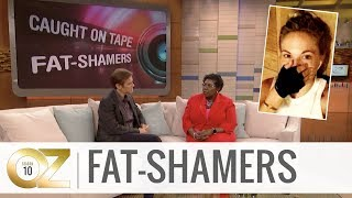 Fat-Shamers Caught on Tape