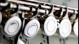 Aprender las melodías de música clásica en la flauta travesera