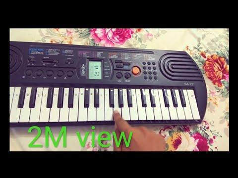 Learn To Play Mere Rashke Qumar On Casio SA77