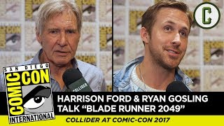 Harrison Ford, Ryan Gosling and More Talk Blade Runner 2049 - Comic-Con SDCC 2017