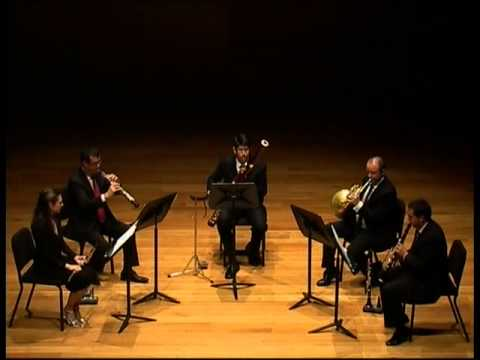 Samuel Barber - Summer Music for Wind Quintet
