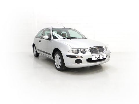 A Time Warp Rover 25iL 1.4 16v With An Incredible 5,422 Miles From New - £2,995