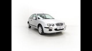 A Time Warp Rover 25iL 1.4 16v With an Incredible 5,557 Miles from New - £3,995