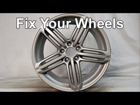 Repair and Refinish Aluminum/Alloy Wheels using Plasti Dip