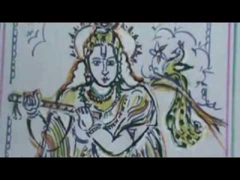 Sri Krishna With Flute By Tpr