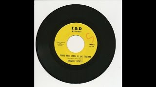 Broadway Express - People Must Learn To Live Together - I and D 1006