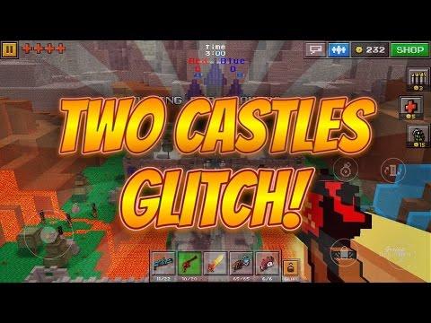 Pixel Gun 3D - Two Castles Glitch!