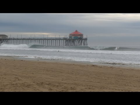 Huntington Beach, CA, Surf, 12/7/2019 AM - Part 1