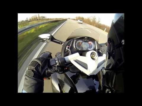 Can-am Spyder RS SE5 Top Speed 205km/h