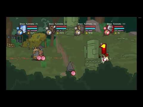 Castle Crashers NEW AFK XP Glitch