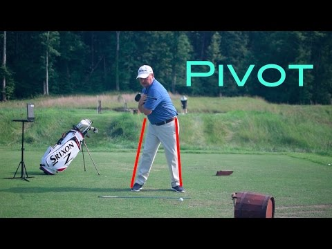 Driver Series: Use Your Pivot Powers Your Swing