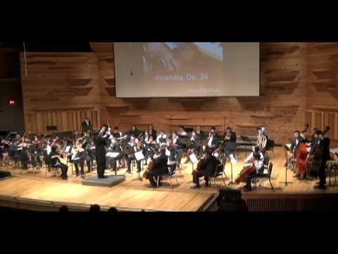 01. Finlandia Op.26 by Jean Sibelius - The 4th 5 Loaves and 2 Fish Orchestra Benefit Concert 2012