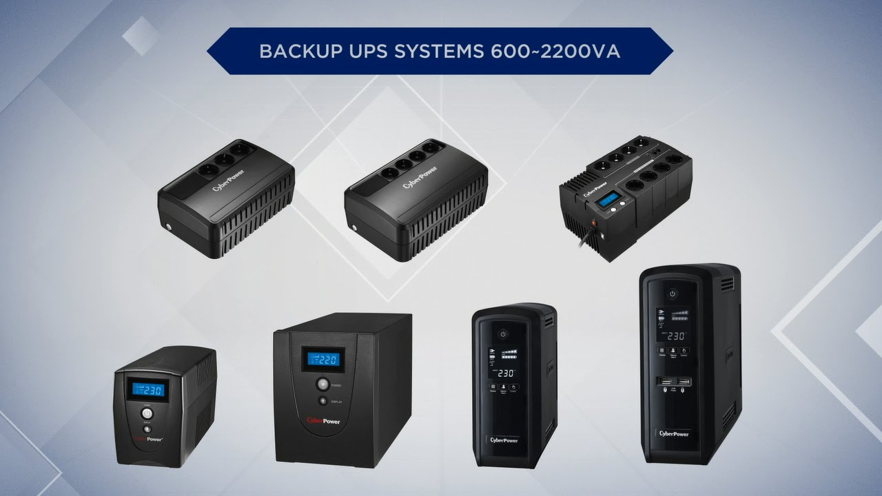 CyberPower Backup UPS Systems Product Introduction