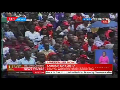 Wilson Sossion : Kenya's unemployment rate has grown by 70 percent