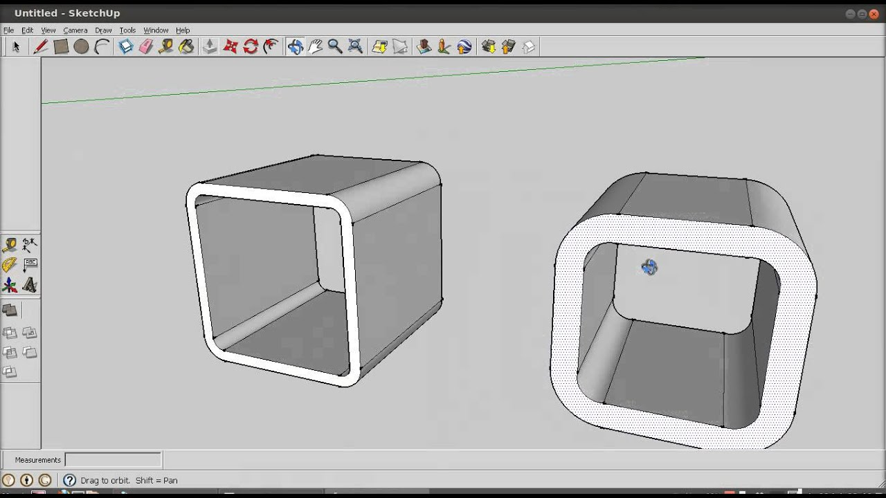 Image Result For Sketchup Rounded Edges
