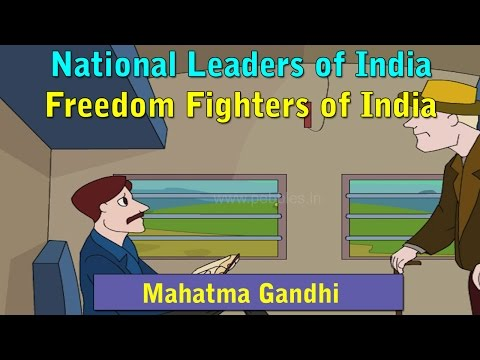Mahatma Gandhi Story in Hindi | National Leaders Stories in Hindi | Freedom Fighters Stories HD