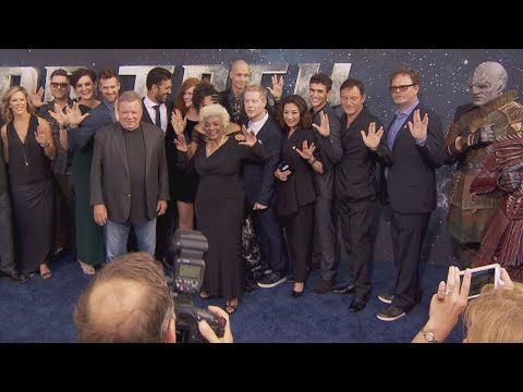 Cast of 'Star Trek' Reboot Hit the Red Carpet Ahead of Premiere