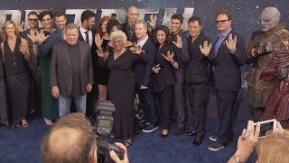 Video Cast of 'Star Trek' Reboot Hit the Red Carpet Ahead of Premiere download MP3, 3GP, MP4, WEBM, AVI, FLV September 2017