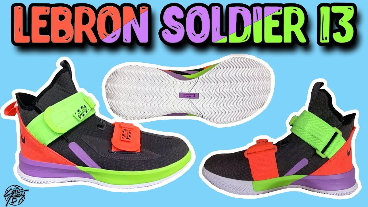 watch 9e17b 46c8a Nike Lebron Soldier 13 Leak! A Strap within a Strap!