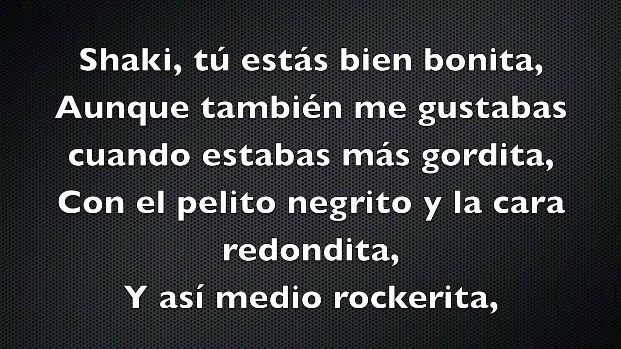 Shakira - Gordita (Feat. Residente Calle 13)