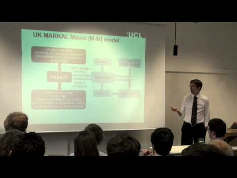 UCL-Energy seminar: 'Energy Modelling and the Energy Policy Process'