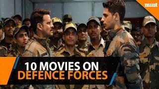 Ten Hindi movies on the defence forces