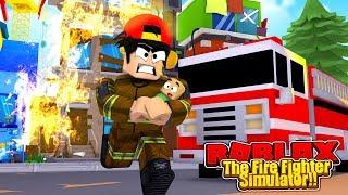 ROBLOX - DER FIRE FIGHTER SIMULATOR!!