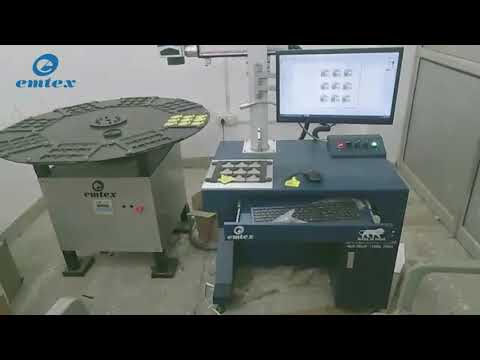 Marking On Plastic Animal Ear Tags| Cattle Tags Marking Machine - Emtex