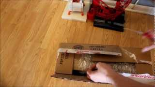 Unboxing Mack Granite Dump Truck with Tag Trailer!