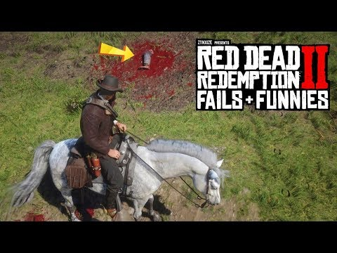 Red Dead Redemption 2 - Fails & Funnies #51 thumbnail
