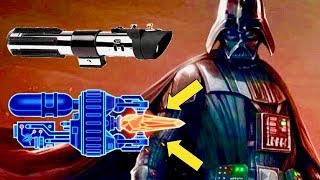 How Disney Changed Darth Vader's Sith Lightsaber After Revenge of the Sith