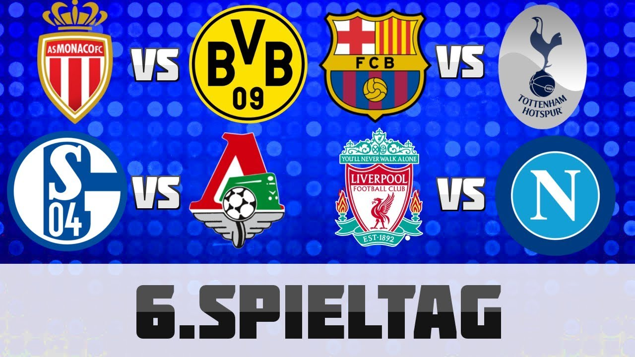 Champions League 6 Spieltag