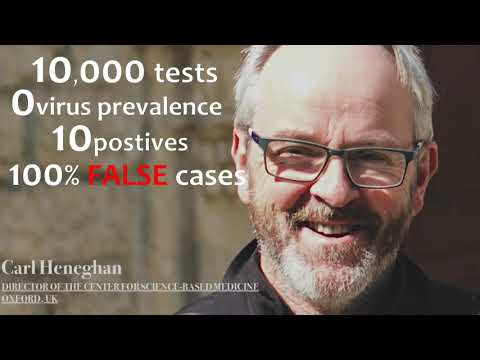 """Stunning evidence confirming the """"positive case"""" testing is a huge blunder / scam / lies etc."""