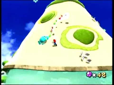 Super Mario Galaxy - The Silver Stars of Sea Slide