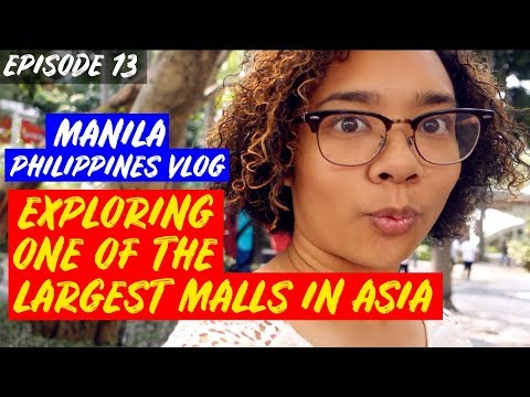 Exploring One of the LARGEST MALLS in Asia   MANILA, PHILIPPINES TRAVEL VLOG 🇵🇭✈️