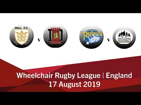 Wheelchair Rugby League Trophy And Challenge Cup Final | England 2019