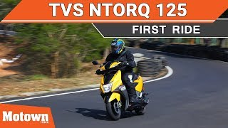 New 2018 TVS NTorq 125 | First Ride | Review | Most Detailed | Motown India