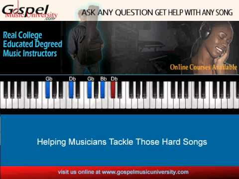 Lesson 1 Contemporary Piano Chords In Db Youtube