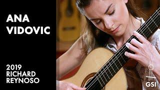 "Ana Vidovic plays ""Partita in A Minor, BWV 1013, I. Allemande"" by J S Bach on a 2019 Richard Reynoso"