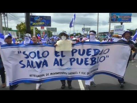 Nicaragua: Articulación de Movimientos Sociales convoca un paro electoral