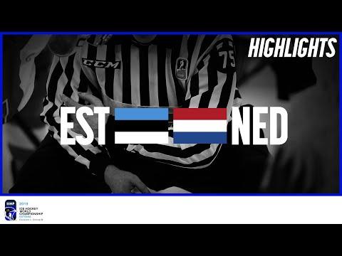 Estonia vs. Netherlands   Highlights   2019 IIHF Ice Hockey World Championship Division I Group B