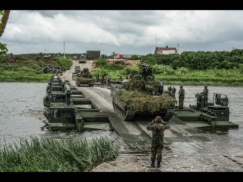Exercise Iron Wolf: NATO battlegroups train together in Lithuania