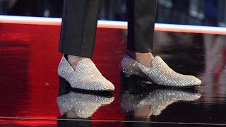 Nick Cannon Wears the World's Most Expensive Shoes on America's Got Talent!