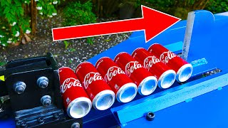 EXPERIMENT KINETIC SPLITTER VS COCA COLA