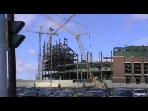Lambeau Field Construction 2012 (3/25/12)