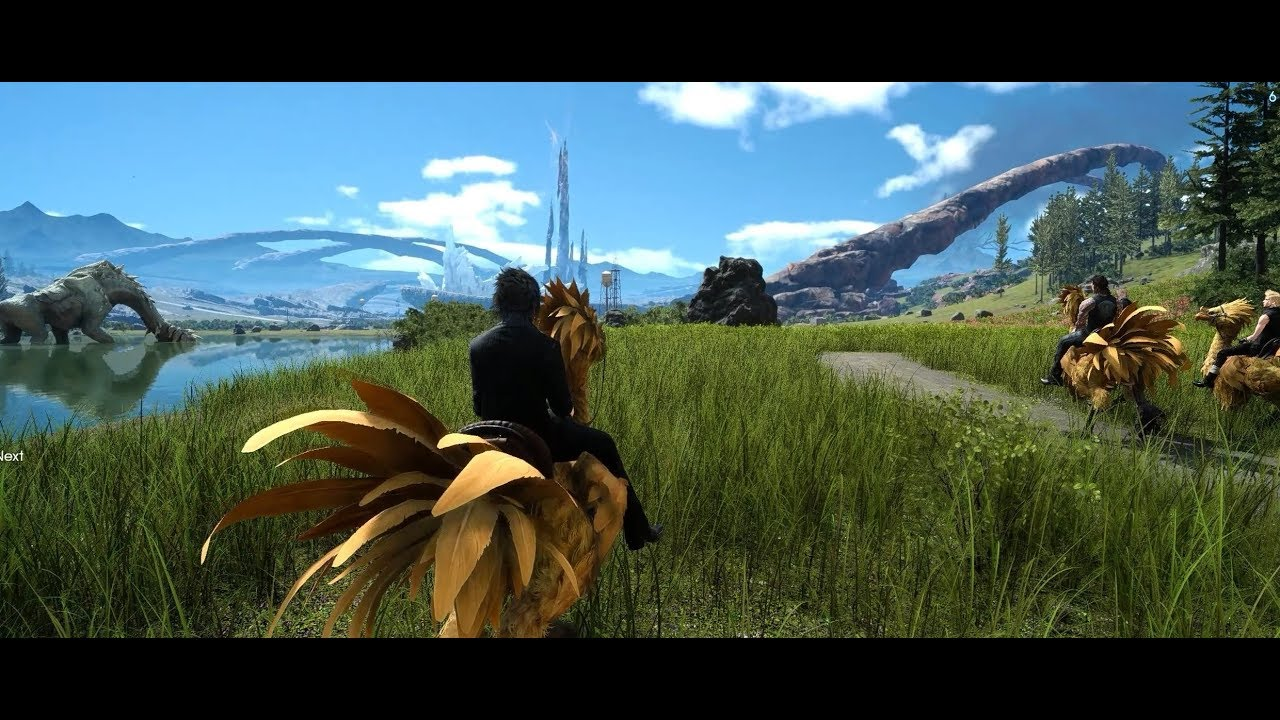 Final Fantasy XV Windows Edition| Tall Grass Mod| Reshade| 3440x1440| Gtx  1080 by xTigeR16