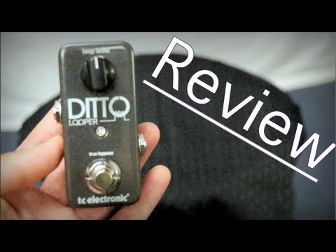 ditto looper pedal in depth review youtube. Black Bedroom Furniture Sets. Home Design Ideas