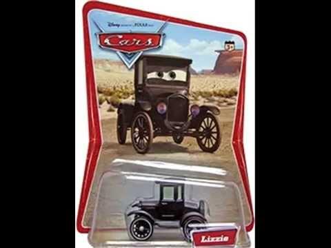 Diecast Pixar Cars Price Guide - Dollar Values Lizzie to Green Ramone Desert Series