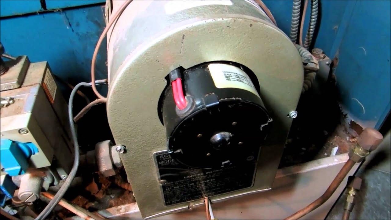 Economite Gas Conversion Burner Modle E20a Youtube